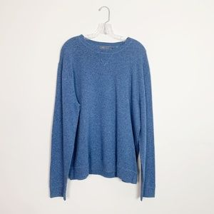 Vince | wool blend pullover sweater blue size XL